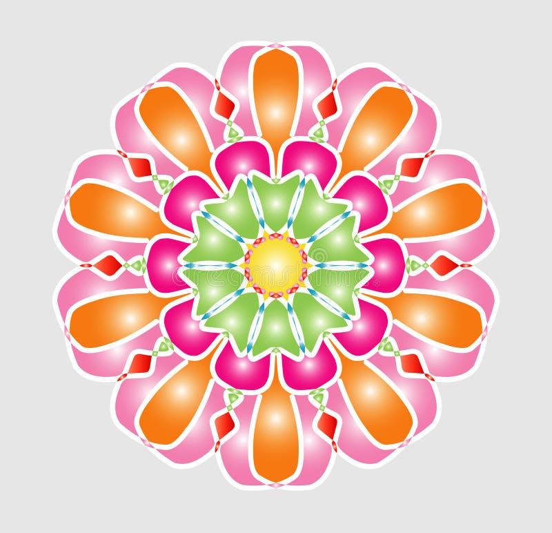 Vecteur eps10 de couleur de forme illustration stock