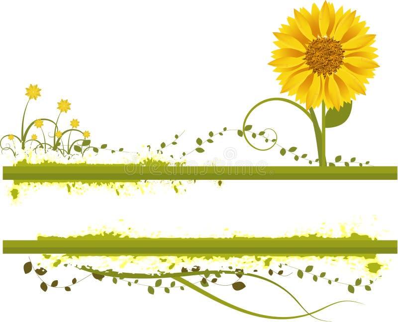 vecteur floral illustration libre de droits