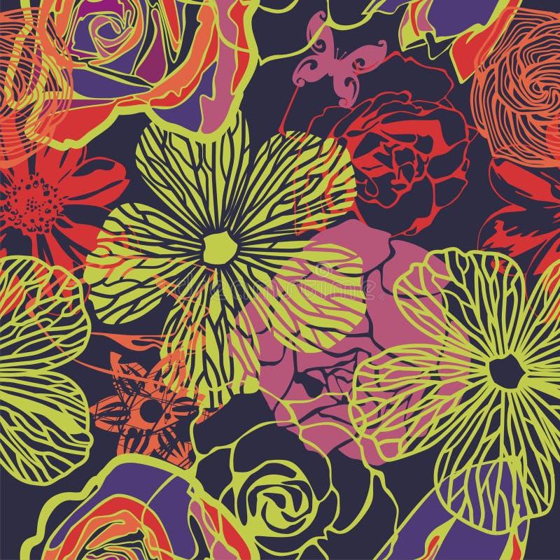 Vecteur floral illustration de vecteur