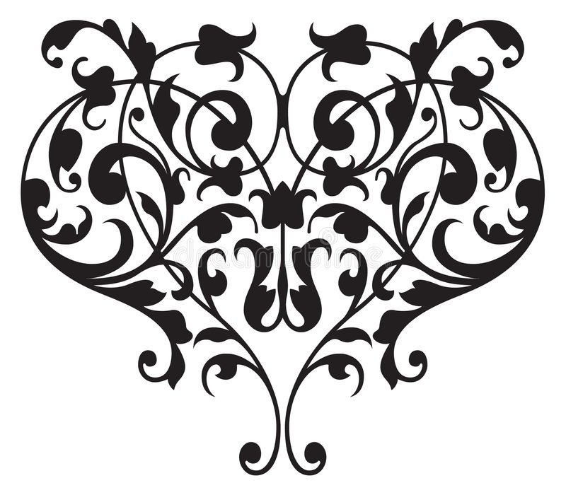Vecteur floral de groupe de la Renaissance illustration de vecteur