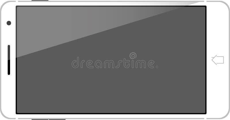 Vecteur futé mobile de téléphone illustration stock