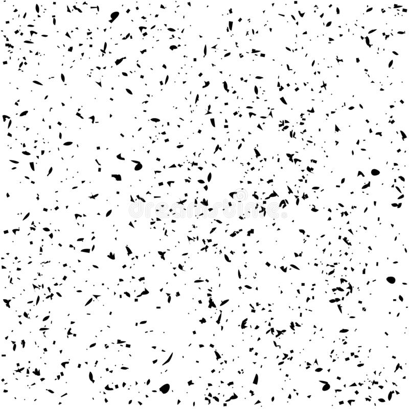 Vecteur grunge affligé d'effet de texture de la poussière de Digital illustration de vecteur