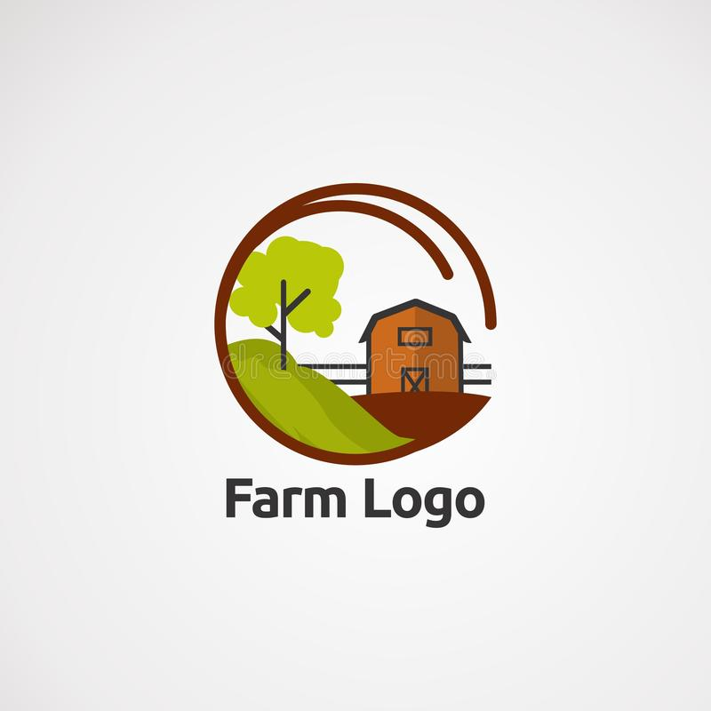 Vecteur, icône, élément, et calibre de logo de tissu d'étoile pour la société illustration libre de droits