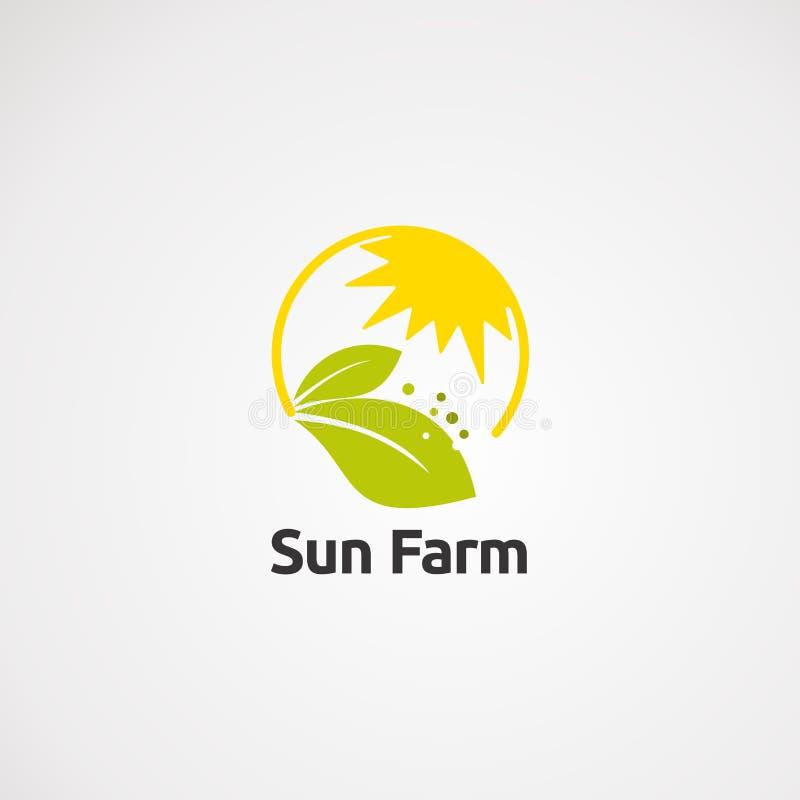 Vecteur, icône, élément, et calibre de logo de tissu d'étoile pour la société illustration stock