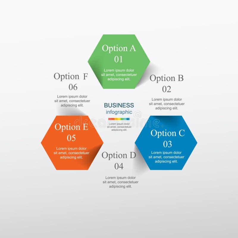 Vecteur infographic illustration stock