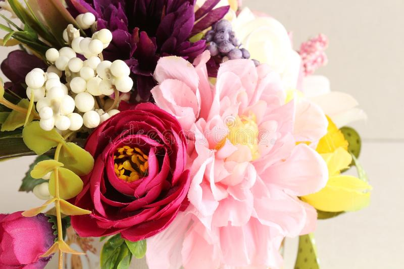 vecteur lumineux d'illustration de fleur de bouquet photo libre de droits