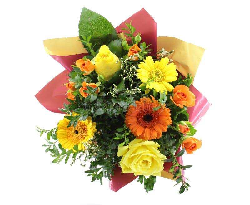 Download Vecteur Lumineux D'illustration De Fleur De Bouquet Photo stock - Image du orange, floral: 76081362
