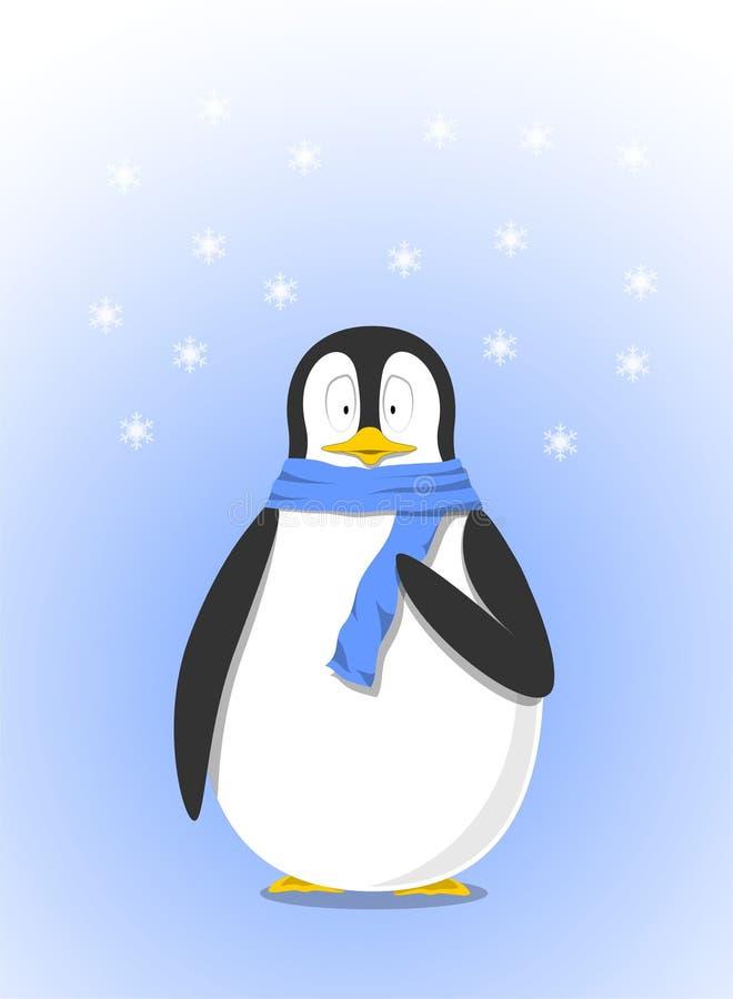 Vecteur mignon de pingouin pour la décoration de mur illustration libre de droits
