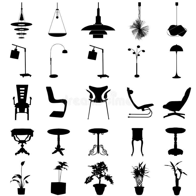Vecteur moderne de décoration illustration stock