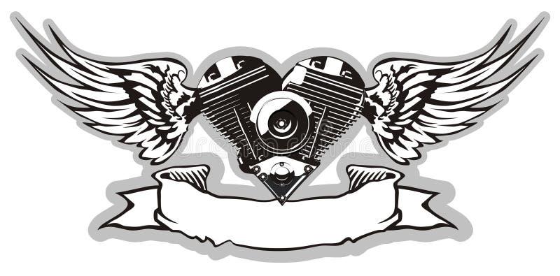 Vecteur Motorheart 2 illustration libre de droits