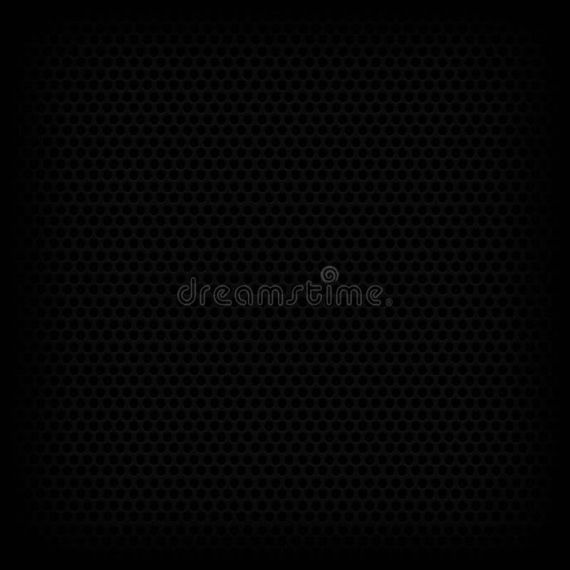 Vecteur noir de fond images stock