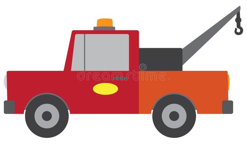 Vecteur plat Tow Truck illustration libre de droits