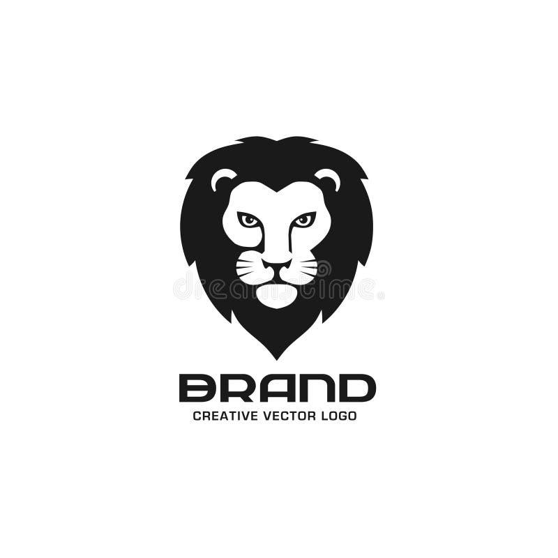 Vecteur principal de logo de lion illustration de vecteur