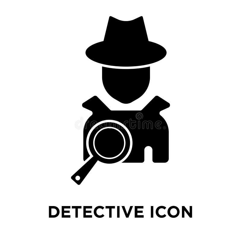 Vecteur révélateur d'icône d'isolement sur le fond blanc, concept de logo illustration stock
