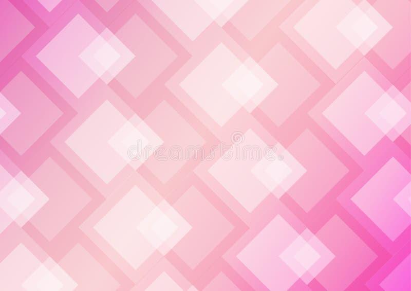 Vecteur rose-clair, rose abstrait de fond photographie stock