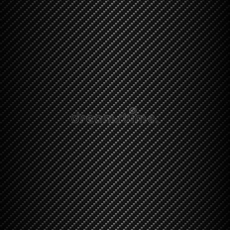 Vecteur sans couture de fond de fibre de carbone illustration de vecteur