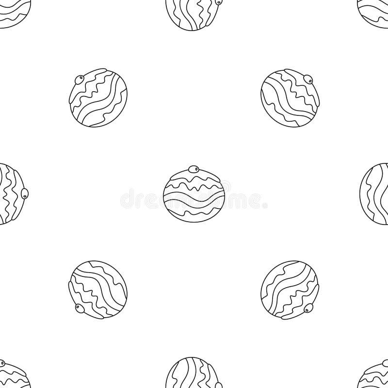 Vecteur sans couture de modèle juif de boulangerie illustration stock