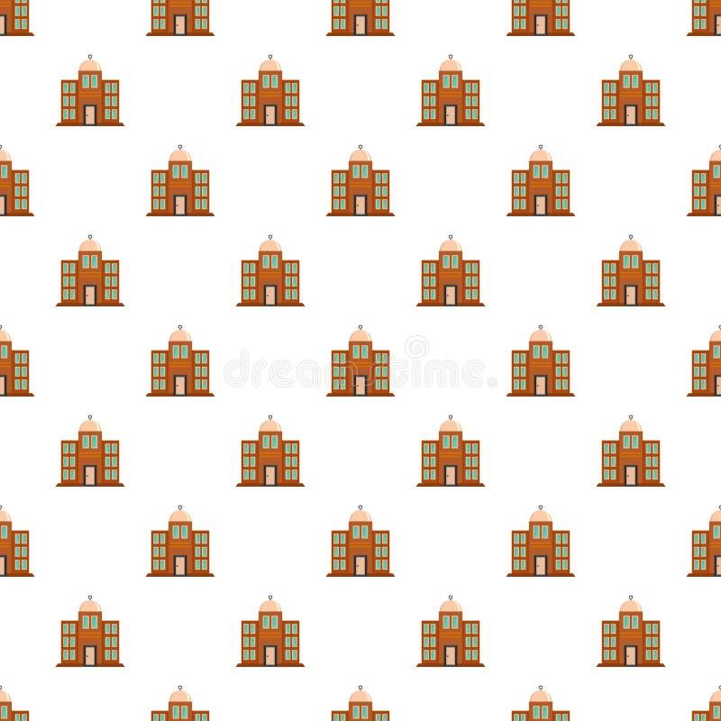 Vecteur sans couture de modèle de synagogue illustration de vecteur