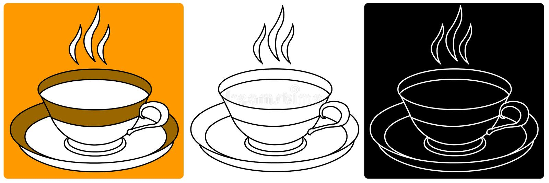 Vecteur - tasse ou cuvette illustration de vecteur