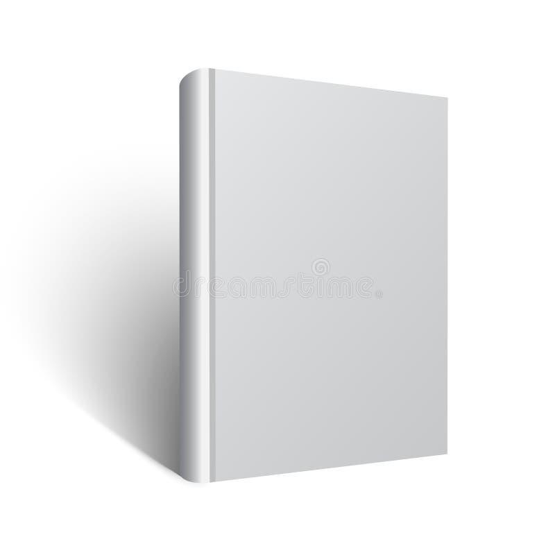 Vecteur vide ENV de maquette de livre illustration de vecteur