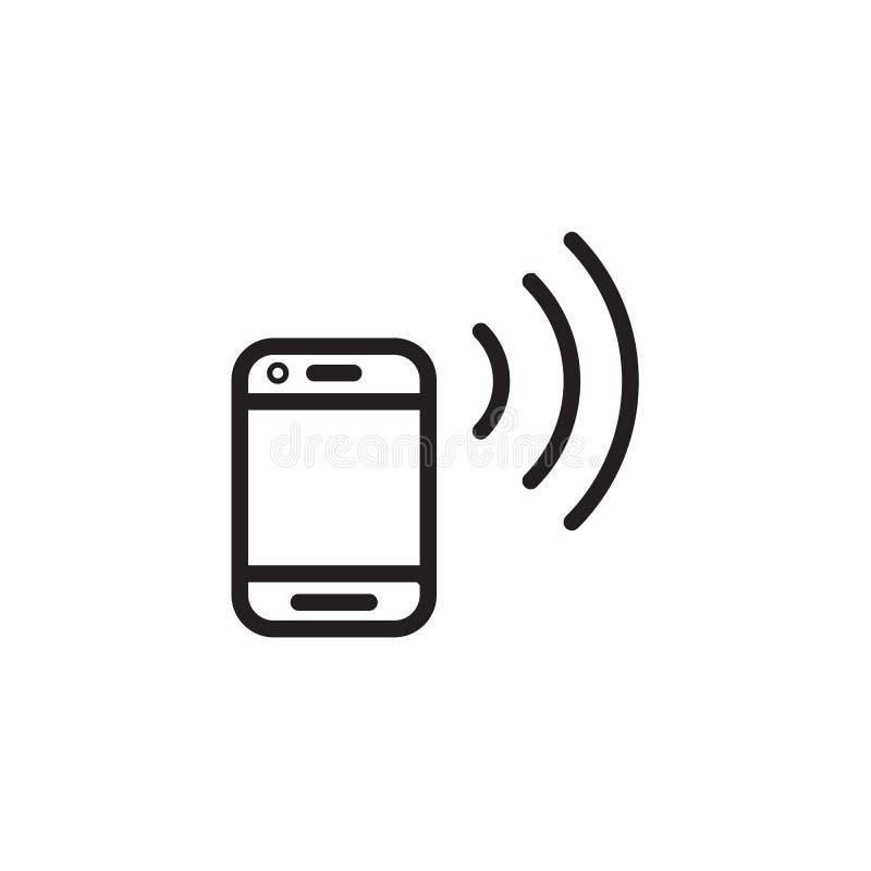 Vectoe esperto EPS 10 do ícone do telefone ilustração do vetor