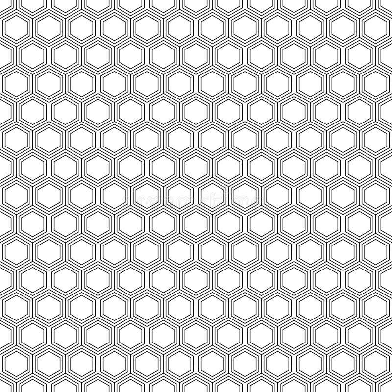 Vector árabe del modelo de las tejas, fondo pentagonal ilustración del vector