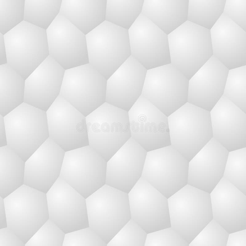 Vector безшовная картина - хаотическое современное backgr poligonal тома иллюстрация вектора