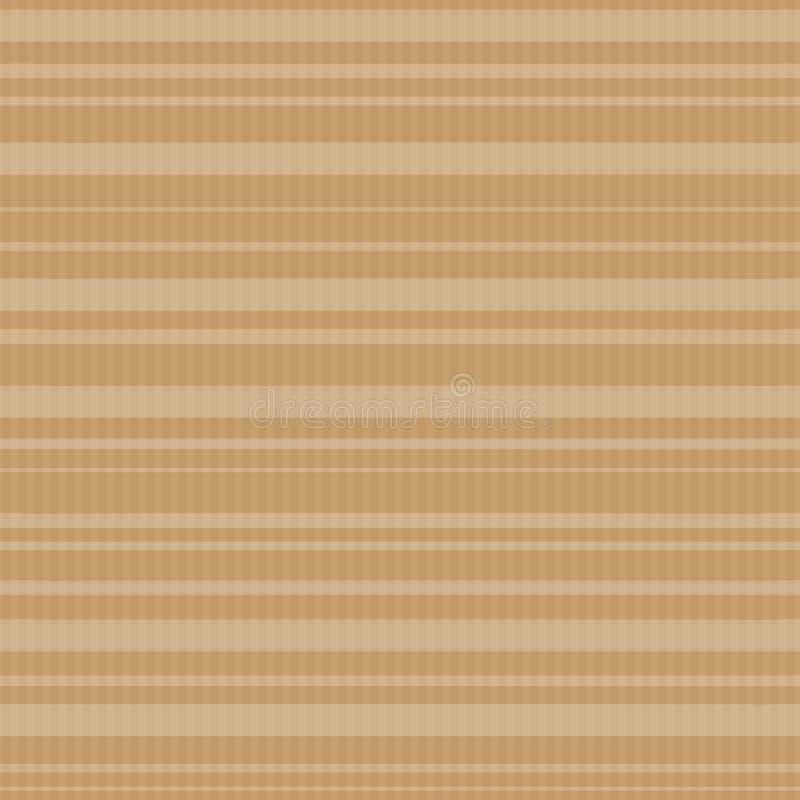 Vector безшовная картина backround бумаги ремесла с белыми просвечивающими нашивками иллюстрация вектора