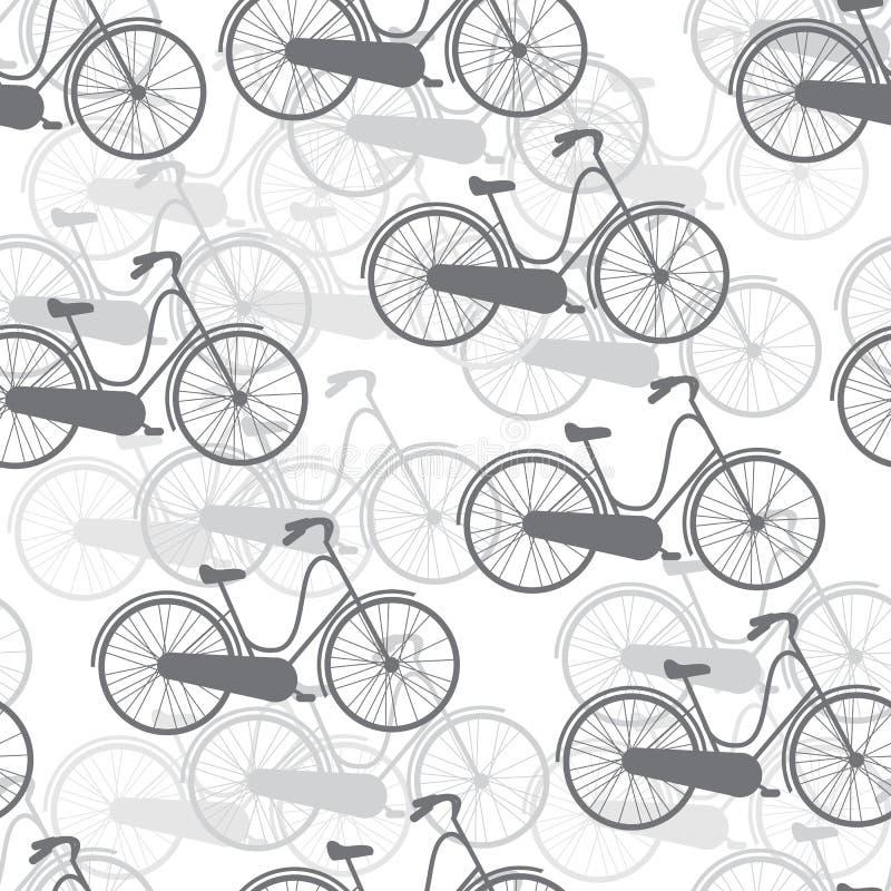 Vector безшовные велосипеды картины бесплатная иллюстрация