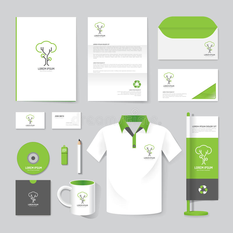 Vector брошюра, рогулька, кассета, папка, рубашка, модель-макет плаката буклета крышки