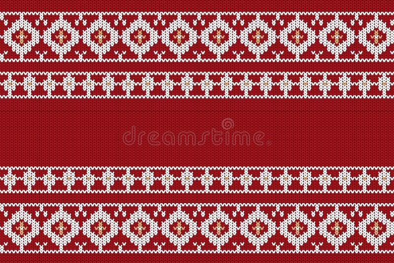Vector иллюстрация украинского фольклорного безшовного орнамента картины этнический орнамент Элемент границы Традиционный украине иллюстрация вектора