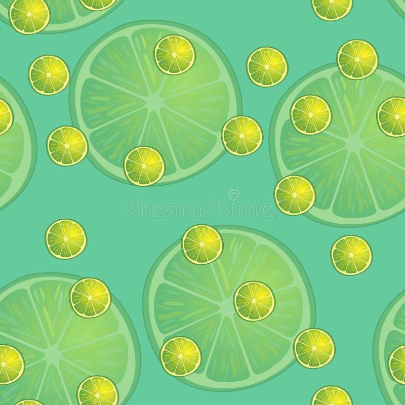 Vector иллюстрация кусков лимона в одинаковых размерах на предпосылке бирюзы Картина иллюстрация вектора