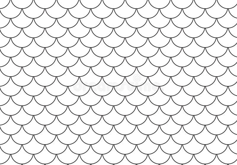 Vector иллюстрация bac картины ретро полкруга безшовного бесплатная иллюстрация