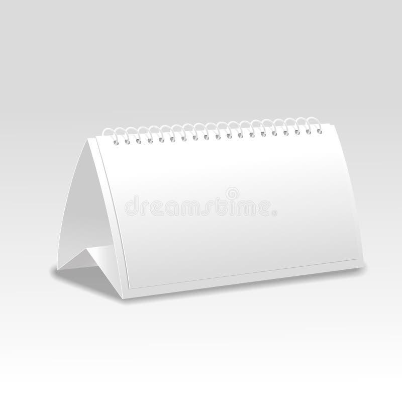 Vector карточка таблицы 3d бумажная изолированная на белизне иллюстрация вектора