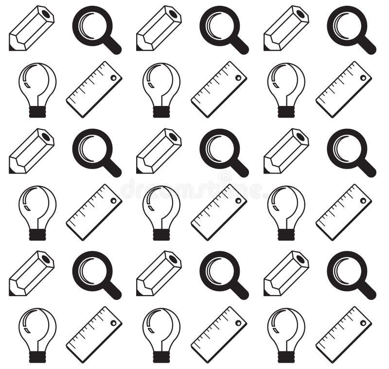 Vector концепция дела, infographic элементы дизайна в квартире вымачивайте иллюстрация штока