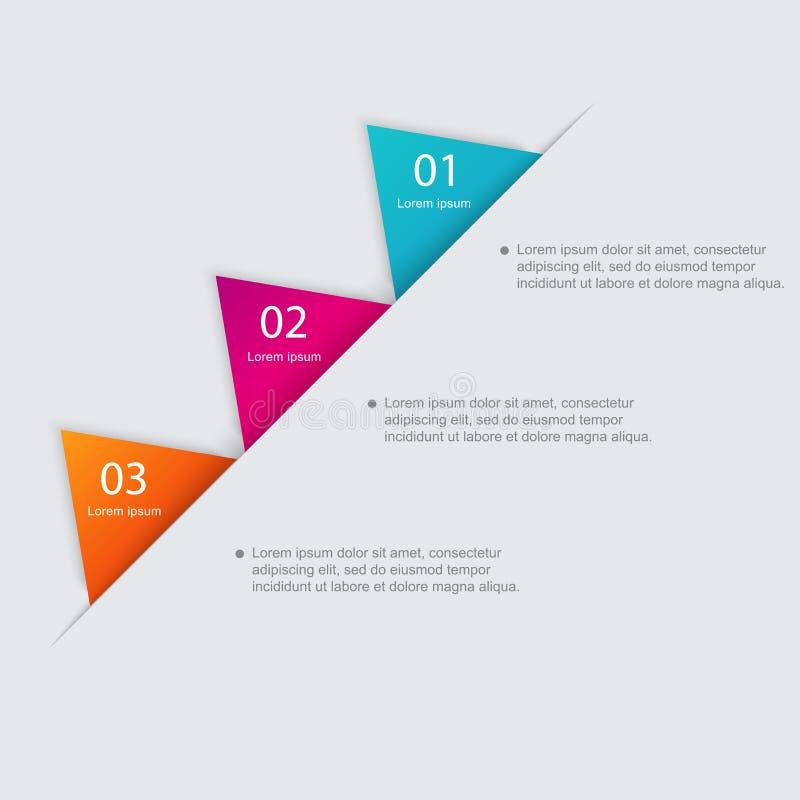 Vector красочные графики информации для ваших представлений дела бесплатная иллюстрация
