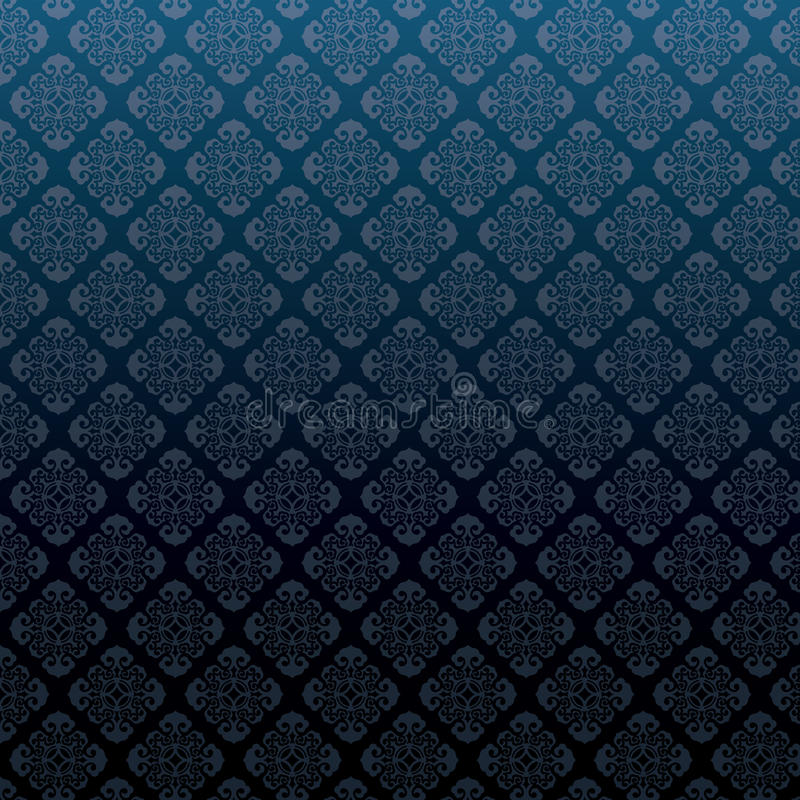 Vector предпосылка картины штофа безшовная иллюстрация штока