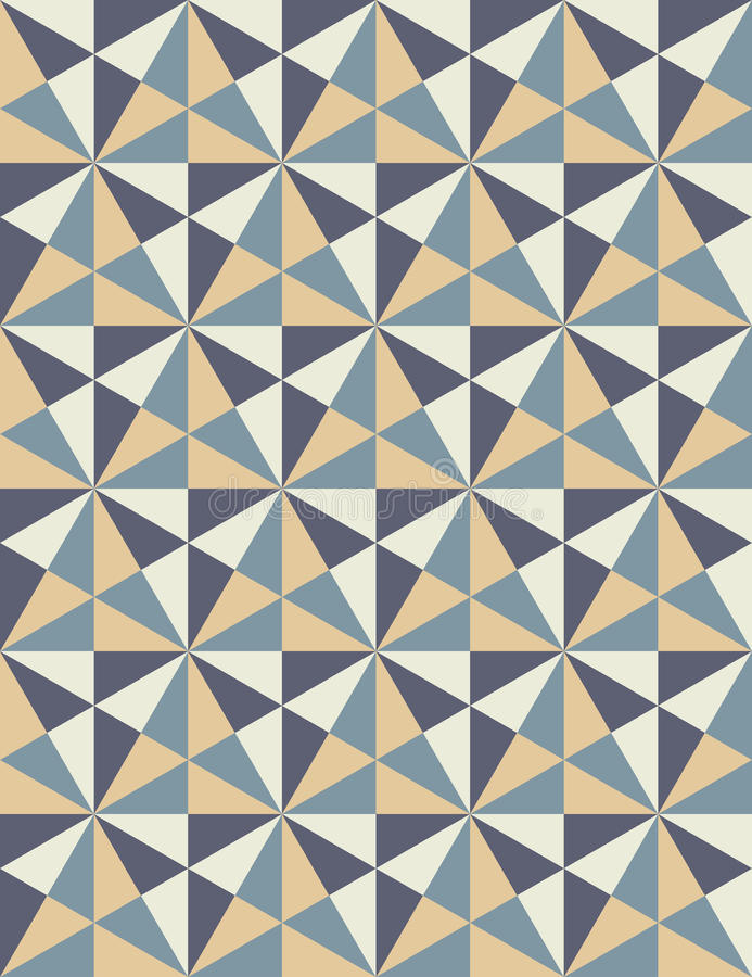 Vector современная безшовная красочная картина геометрии, мозаика иллюстрация вектора