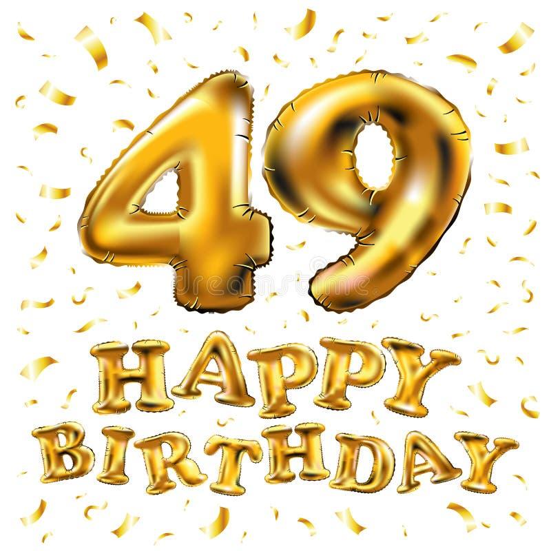 Поздравления с днем рождения к 49 годам
