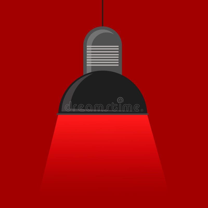 Vector черный сияющий свет в просторная квартира-стиле на a стоковое фото rf