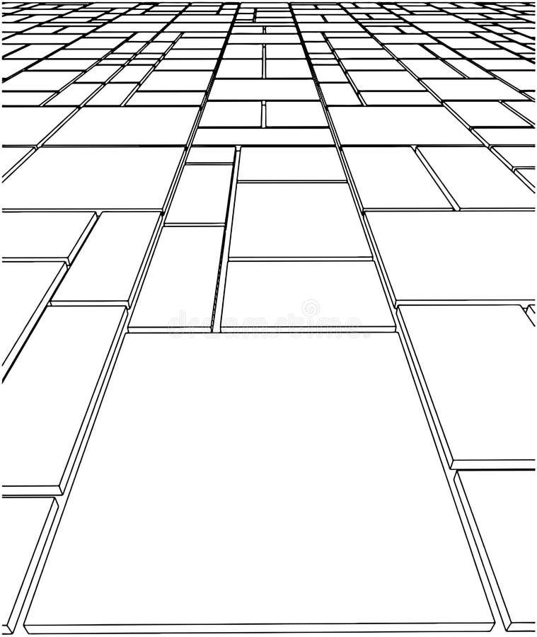 Vector 10 del suelo de azulejo libre illustration