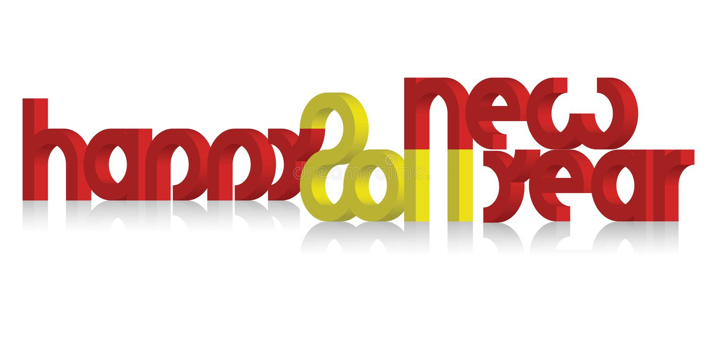 Vector-2011 happy new year stock photo