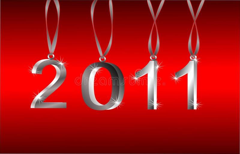 Vector 2011 New Year Ornaments vector illustration