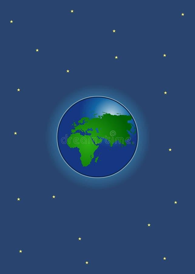 Vector - Aarde stock illustratie