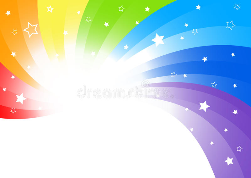 Vector abstract background in bright color royalty free illustration