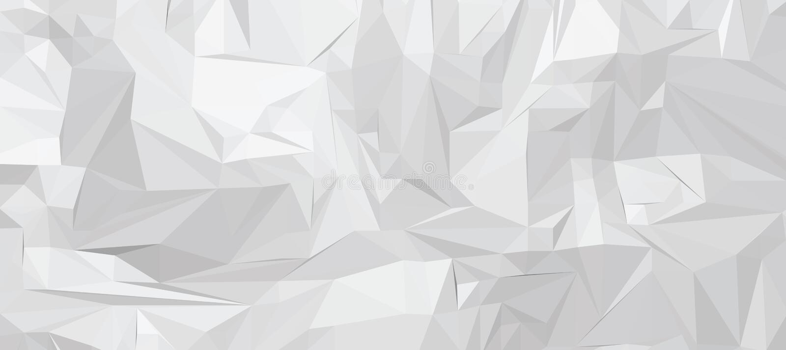 Vector abstract background. 3D abstract background, vector illustration royalty free illustration