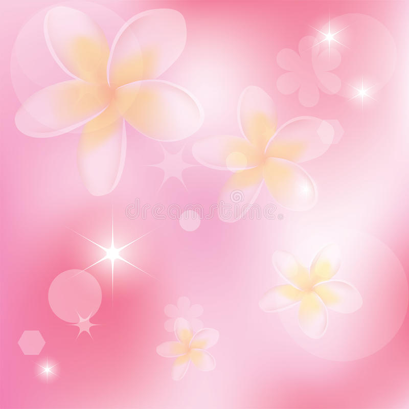Download Vector Abstract Background With Flowers Stock Vector - Image: 23003091