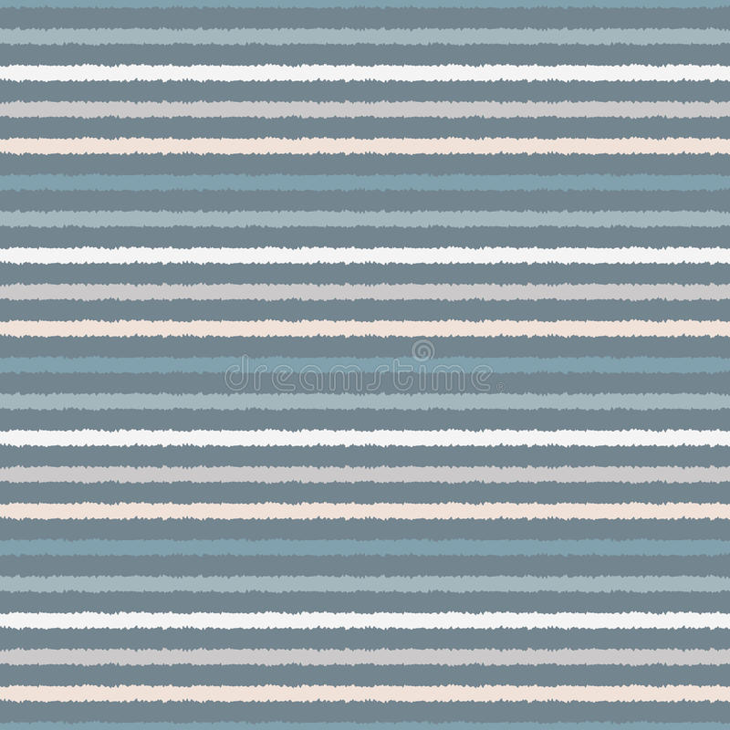 Vector abstract background with horizontal stripes. Endless texture can be used for printing onto fabric, paper or scrap booking, wallpaper, pattern fills, web royalty free illustration