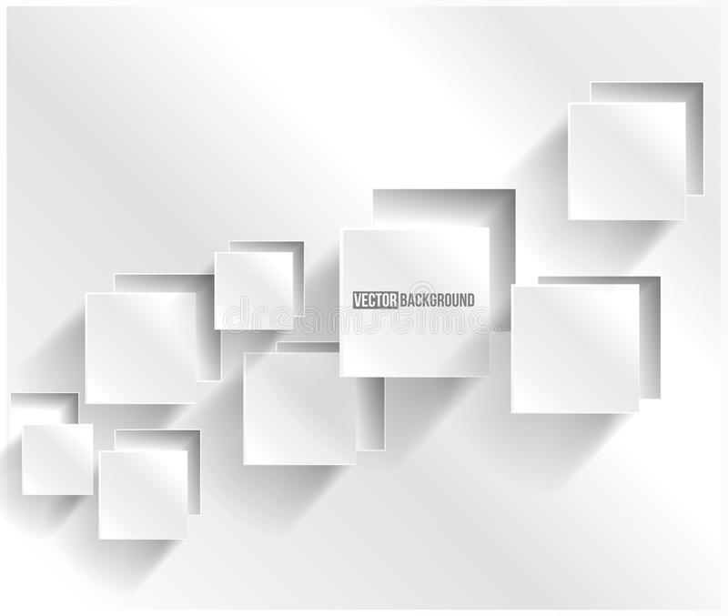 Vector abstract background square. Web Design stock illustration