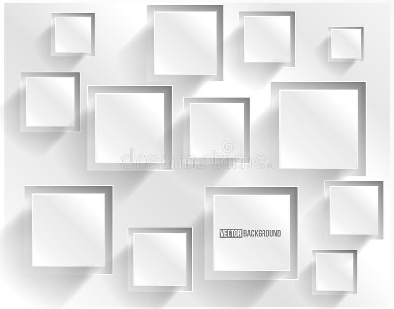 Vector abstract background square. Web Design royalty free illustration